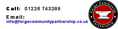 Forge Community Partnership Logo contact
